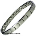 MPS™ PYTHON Expanding Stainless Steel Magnetic Bracelet - NARROW