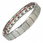 MPS™ PYTHON 4 in 1 Elements Expanding Stainless Steel Magnetic Bracelet - S