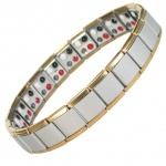 MPS™ PYTHON 4 in 1 Elements Expanding Stainless Steel Magnetic Bracelet - GS