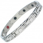 MPS™ HADES Ladies Stainless Steel Bio Elements Magnetic Bracelet