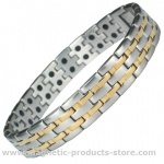 MPS® GHOULS Repellent Premium Men's Stainless Steel Magnetic Bracelet