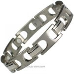 MPS H-MOONS Light Titanium Magnetic Bracelet
