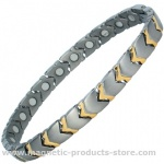 MPS™ YASMIN Titanium Magnetic Therapy Bracelet