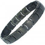 MPS® MIAMI Black Titanium Magnetic Bracelet