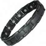 MPS™ POLARIS Jet-Black Titanium Magnetic Bracelet