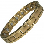 IonTopia® POLARIS Gold Plated Titanium Magnetic Bracelet