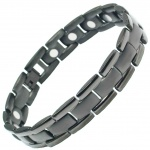 MPS® POLARIS Gunmetal Titanium Magnetic Bracelet for men