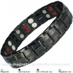 MPS™ EUROPE BLACK Titanium & Germanium Magnetic Bracelet