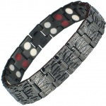 MPS® MERCURY BLACK Titanium & Germanium Magnetic Bracelet