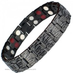 MPS™ MERCURY BLACK Titanium & Germanium Magnetic Bracelet