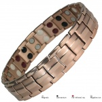 MPS™ EUROPE Rose Gold Plated Titanium & Germanium Magnetic Bracelet