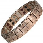 MPS® HOMERIE Rose Gold Plated Titanium & Germanium Magnetic Bracelet