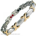 MPS® SIENA Titanium 4 in 1 Elements Magnetic Bracelet for Women