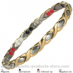 MPS™ ALIOTH GS Titanium 4 Elements  Magnetic Bracelet