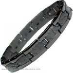 MPS™ TATOO Jet Black Titanium Magnetic Bracelet