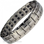 MPS™ EUROPE Titanium Magnetic Therapy Bracelet