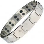 MPS™ AMELTHEA Titanium Magnetic Therapy Bracelet