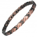 MPS ATHEN Copper Plated Titanium Magnetic Bracelet