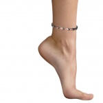 MPS® ALIOTH SUPER CO Titanium Magnetic Anklet