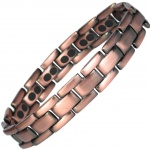 MPS™ POLARIS DOUBLE C Titanium Magnetic Therapy Bracelet