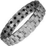 MPS® ANDAR Titanium Magnetic Therapy Bracelet for Men