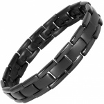 MPS® POLARIS Black Double Strength Titanium Magnetic Bracelet