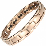 MPS® POLARIS Rose-Gold Double Strength Titanium Magnetic Bracelet