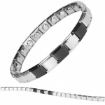 MPS® SPECIAL EDITION Expanding Stainless Steel Magnetic Bracelet 1404