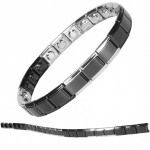 MPS® SPECIAL EDITION Expanding Stainless Steel Magnetic Bracelet 1407