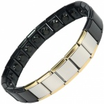 MPS® SPECIAL EDITION Expanding Stainless Steel Magnetic Bracelet 1402