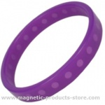 SUPER PRIME™ Purple Silicone Magnetic Bracelet